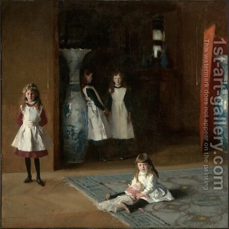 The Daughters Of Edward Darley Boit by Sargent - Reproduction Oil Painting