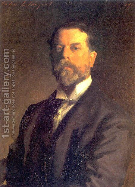 Self Portrait by Sargent - Reproduction Oil Painting