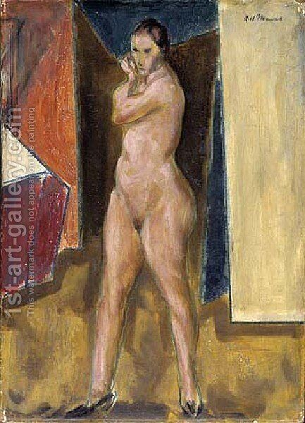 Nude by Alfred Henry Maurer - Reproduction Oil Painting