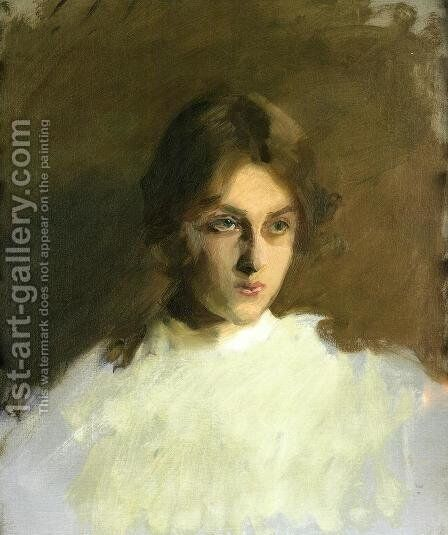 Portrait Of Edith French by Sargent - Reproduction Oil Painting