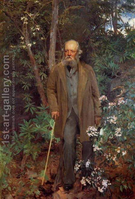 Frederick Law Olmsted by Sargent - Reproduction Oil Painting