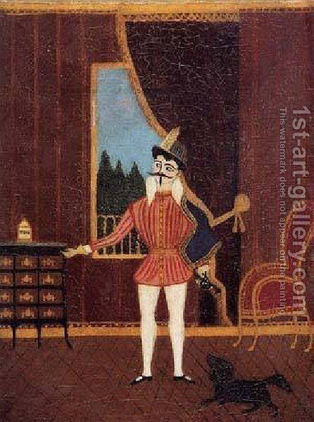 The Little Cavalier Don Juan by Henri Julien Rousseau - Reproduction Oil Painting