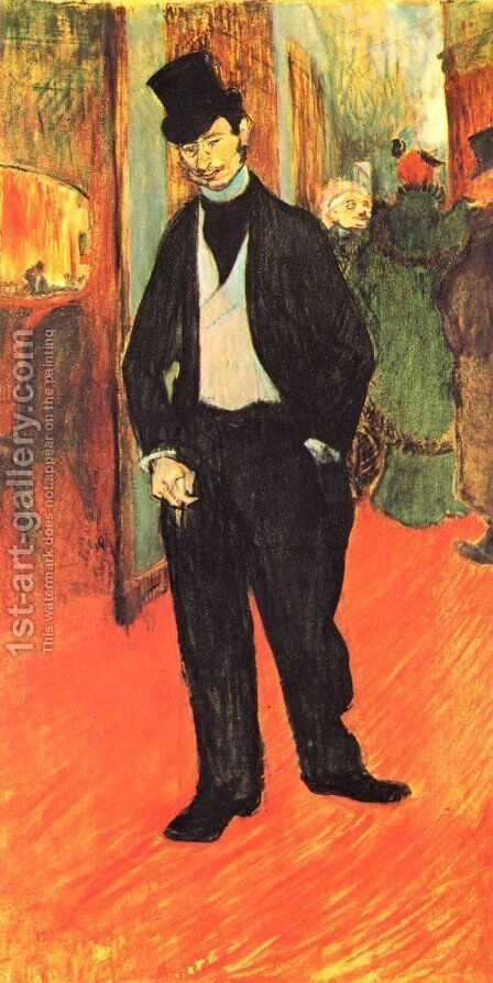 Dr Gabriel Tapie by Toulouse-Lautrec - Reproduction Oil Painting