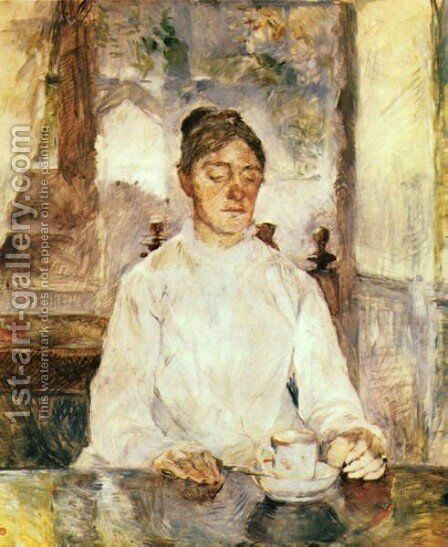 The Mother Of The Artist by Toulouse-Lautrec - Reproduction Oil Painting