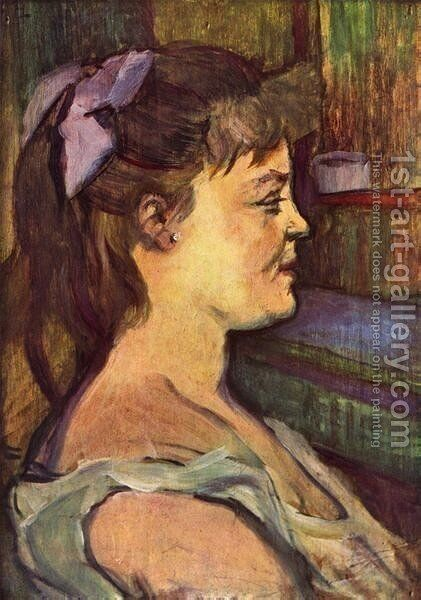 House Woman by Toulouse-Lautrec - Reproduction Oil Painting