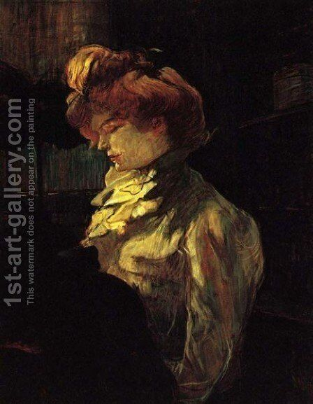 Miss Margouin by Toulouse-Lautrec - Reproduction Oil Painting