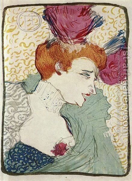Mademoiselle Marcelle Lender by Toulouse-Lautrec - Reproduction Oil Painting