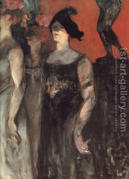 Messalina by Toulouse-Lautrec - Reproduction Oil Painting