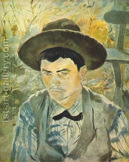 Young Routy 1883 by Toulouse-Lautrec - Reproduction Oil Painting