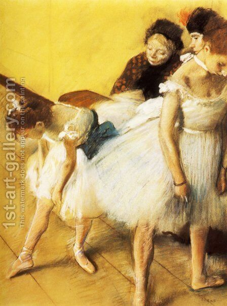 The Dance Examination by Edgar Degas - Reproduction Oil Painting