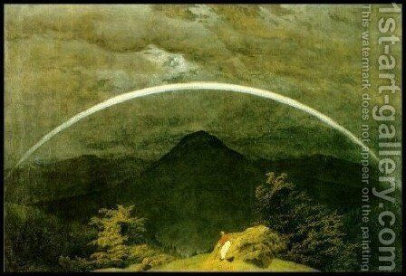 Rainbow by Caspar David Friedrich - Reproduction Oil Painting