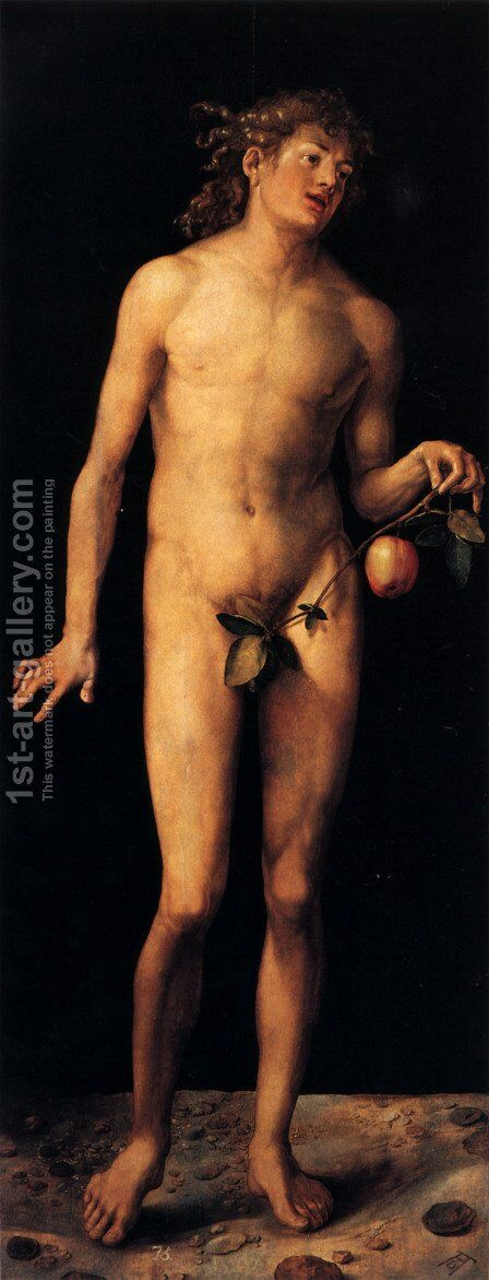 Adam by Albrecht Durer - Reproduction Oil Painting