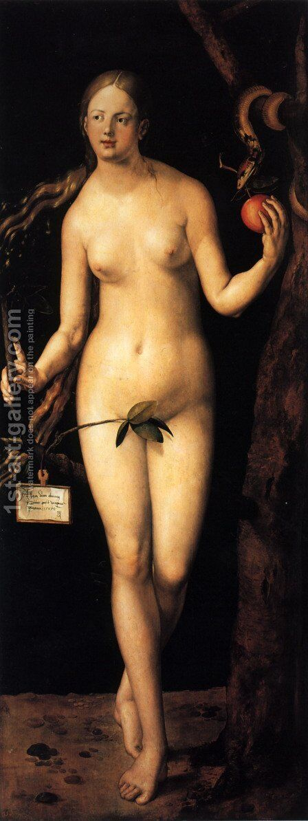 Eve by Albrecht Durer - Reproduction Oil Painting