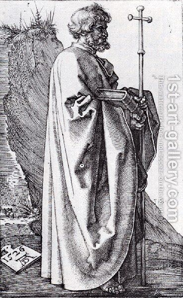 St  Philip by Albrecht Durer - Reproduction Oil Painting