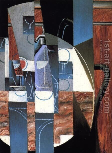 The Siphon by Juan Gris - Reproduction Oil Painting