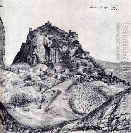 The Citadel Of Arco In The South Tyrol by Albrecht Durer - Reproduction Oil Painting