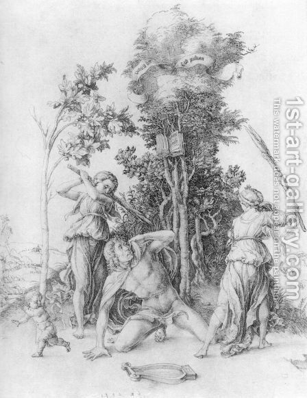 The Death Of Orpheus by Albrecht Durer - Reproduction Oil Painting