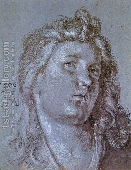 Head Of An Angel by Albrecht Durer - Reproduction Oil Painting