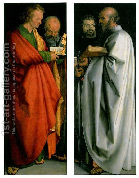 Four Apostles by Albrecht Durer - Reproduction Oil Painting