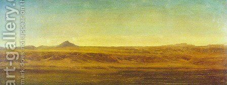 On The Plains by Albert Bierstadt - Reproduction Oil Painting