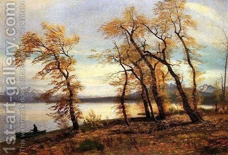 Lake Mary  California by Albert Bierstadt - Reproduction Oil Painting