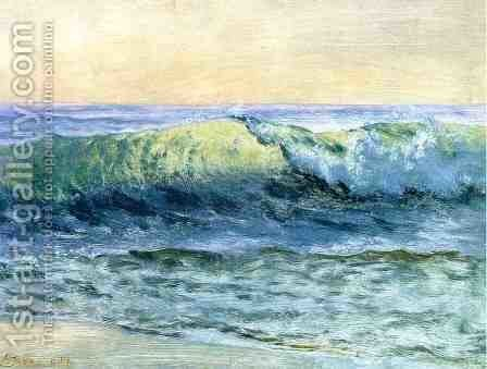 The Wave by Albert Bierstadt - Reproduction Oil Painting