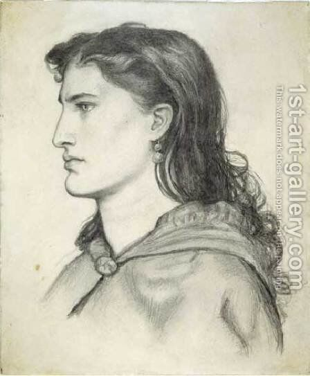 Aggie by Dante Gabriel Rossetti - Reproduction Oil Painting