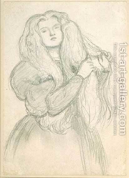 Annie Miller by Dante Gabriel Rossetti - Reproduction Oil Painting