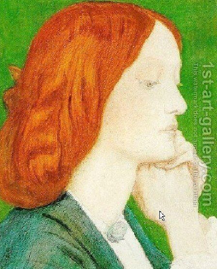 Elizabeth Siddal3 by Dante Gabriel Rossetti - Reproduction Oil Painting