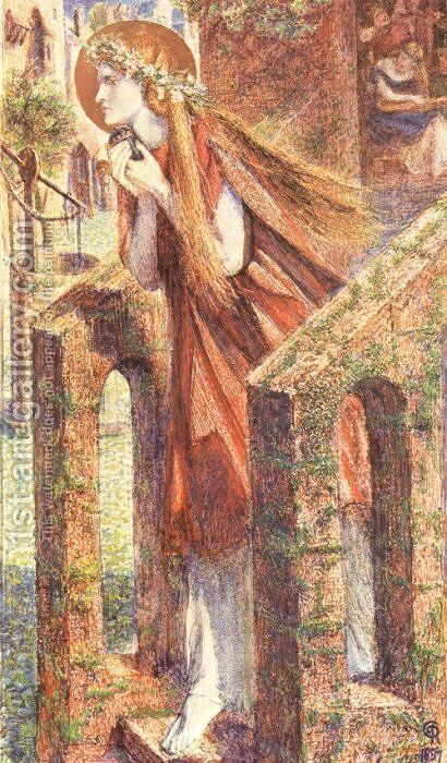 Mary Magdalen2 by Dante Gabriel Rossetti - Reproduction Oil Painting