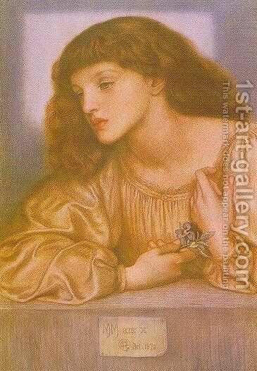 May Morris by Dante Gabriel Rossetti - Reproduction Oil Painting