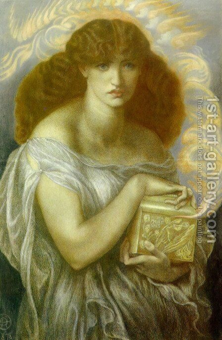 Pandora by Dante Gabriel Rossetti - Reproduction Oil Painting