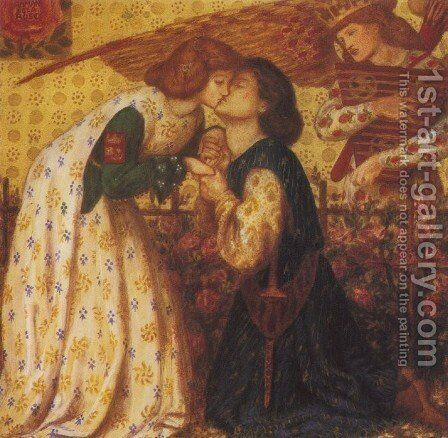 Roman De La Rose by Dante Gabriel Rossetti - Reproduction Oil Painting