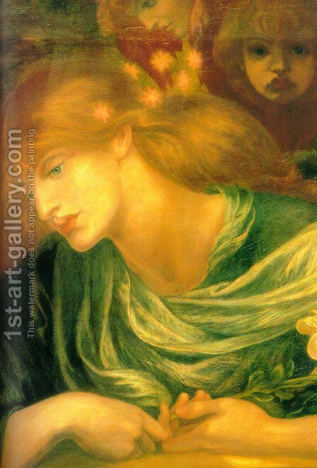 Unknown by Dante Gabriel Rossetti - Reproduction Oil Painting