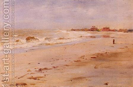 Coastal View by William Merritt Chase - Reproduction Oil Painting
