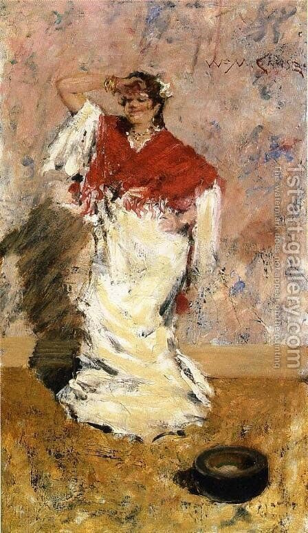 Dancing Girl by William Merritt Chase - Reproduction Oil Painting