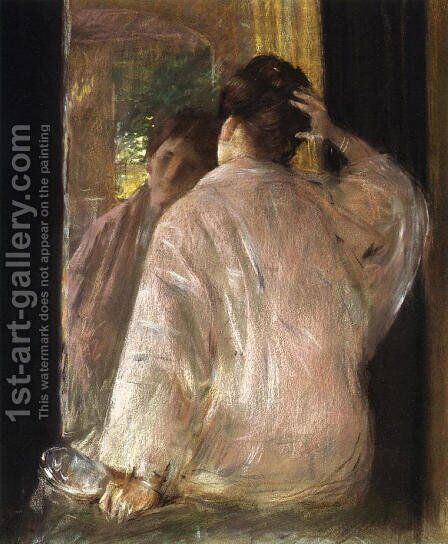 Dorothy by William Merritt Chase - Reproduction Oil Painting