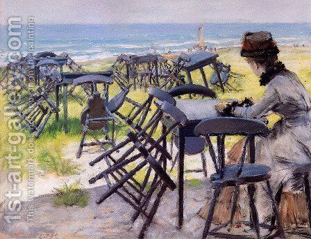 End Of The Season by William Merritt Chase - Reproduction Oil Painting