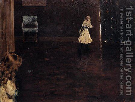 Hide And Seek by William Merritt Chase - Reproduction Oil Painting