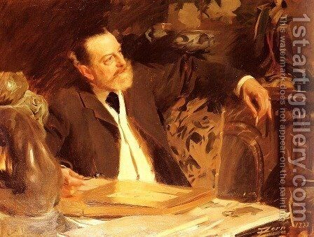 Antonin Proust by Anders Zorn - Reproduction Oil Painting