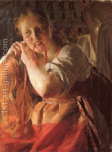 Margit by Anders Zorn - Reproduction Oil Painting