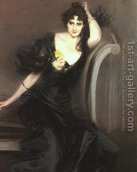 Lady Colin Campbell 1897 by Giovanni Boldini - Reproduction Oil Painting