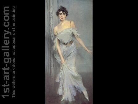 Madame Charles Max by Giovanni Boldini - Reproduction Oil Painting
