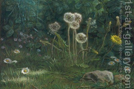 Dandelions by Jean-Francois Millet - Reproduction Oil Painting