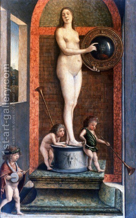 Prudence by Giovanni Bellini - Reproduction Oil Painting