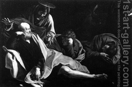 Christ in the Garden 1603 by Caravaggio - Reproduction Oil Painting