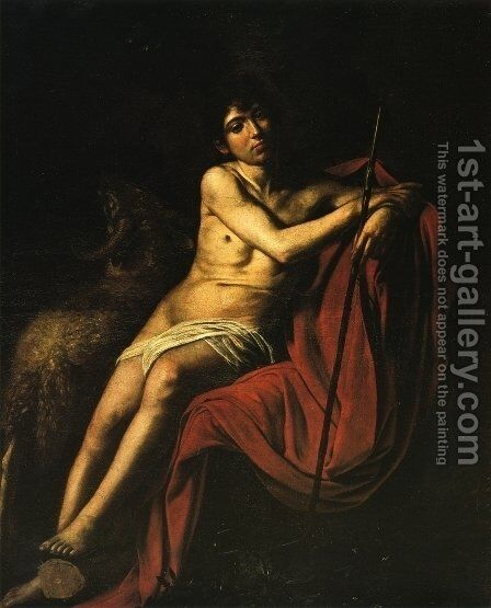 St. Francis c. 1606 2 by Caravaggio - Reproduction Oil Painting