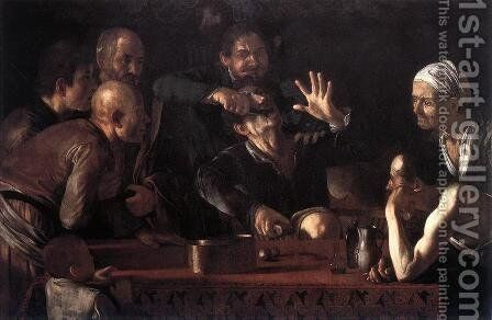 The Tooth-Drawer 1607-09 by Caravaggio - Reproduction Oil Painting