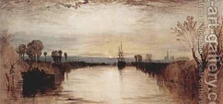 Chichester Canal by Turner - Reproduction Oil Painting