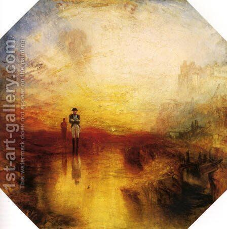 The Exile And The Snail by Turner - Reproduction Oil Painting